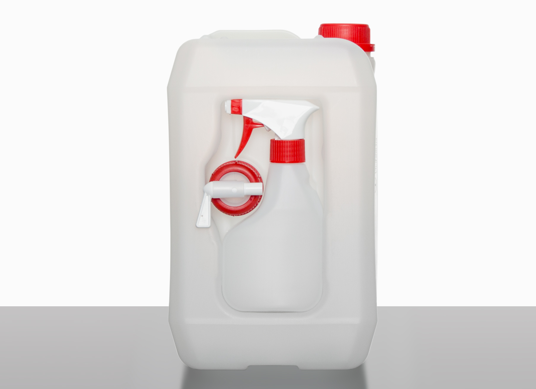 Combination canisters: 5,0 liter, colour: natural