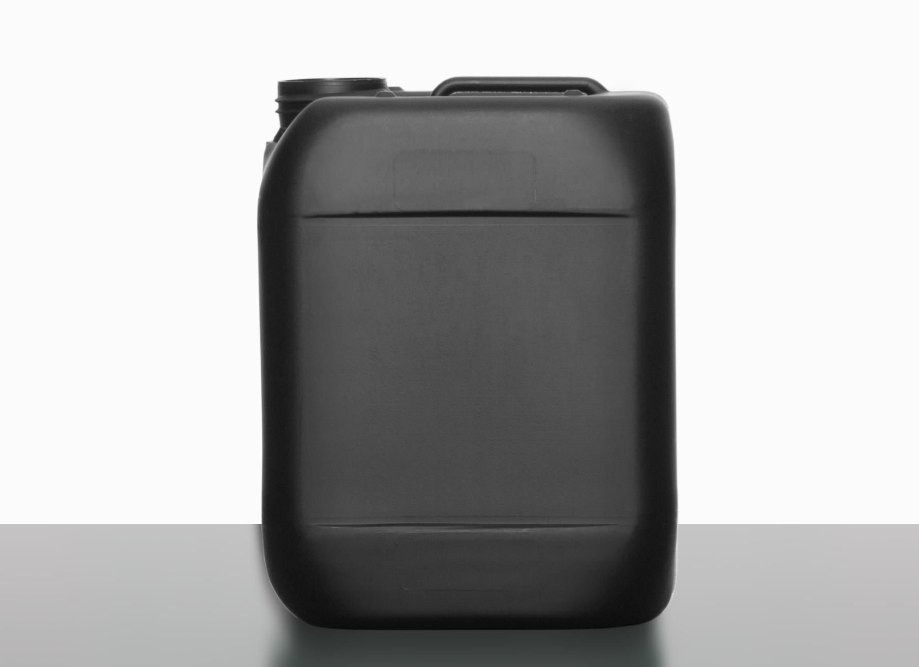 kunststoffkanister 5 0 l aus hdpe recyclat in schwarz. Black Bedroom Furniture Sets. Home Design Ideas