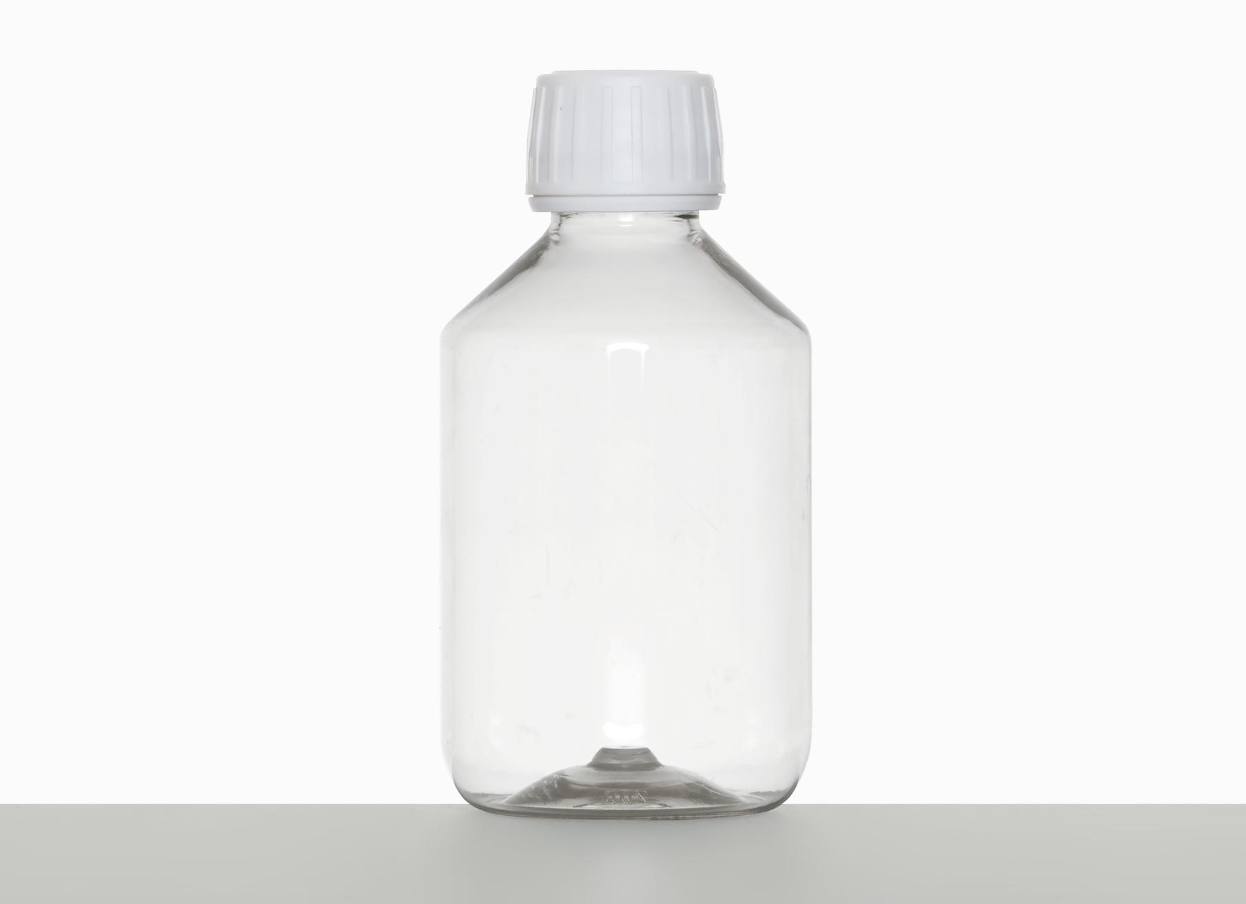 pet flasche zyl 200 ml aus pet in klar. Black Bedroom Furniture Sets. Home Design Ideas
